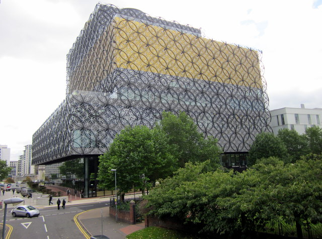 New Library of Birmingham Rear View