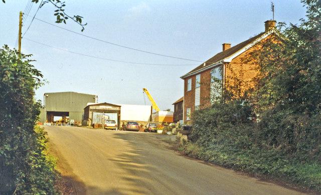 Hurstbourne station site/remains, 1993