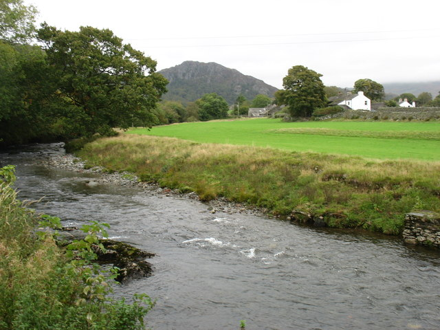 The River Duddon from Hall Bridge