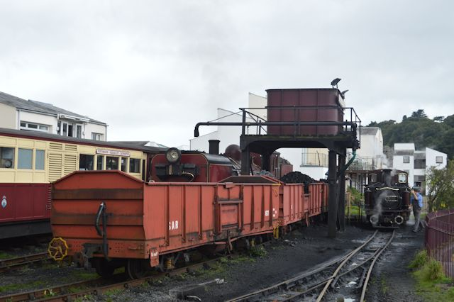 Coaling and watering point at Harbour station