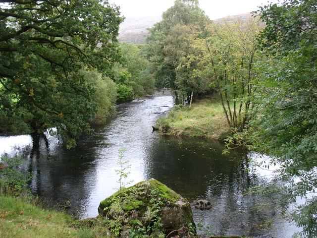 The River Duddon near Hall Bridge
