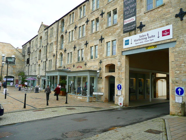 Shops and apartments in New Mills