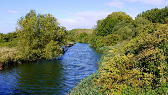 River Nene at Elton Bridge