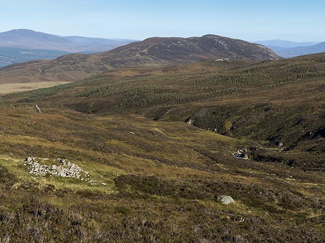 Moorland by the Allt Sloc na Creadha
