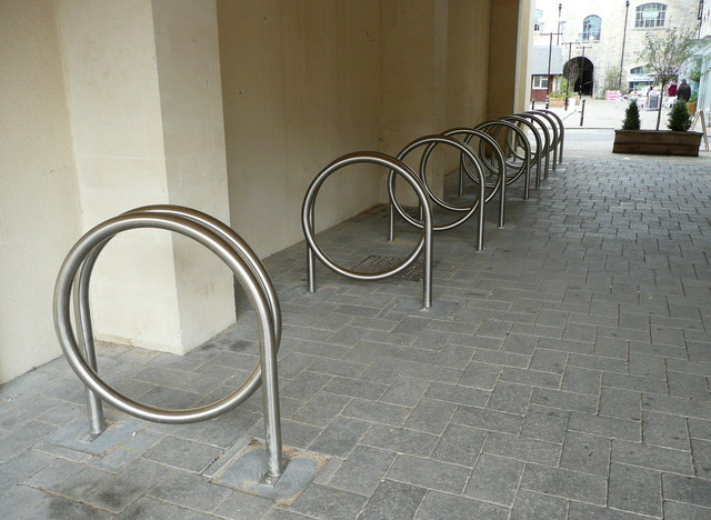 Cycle stands, Bradford-on-Avon