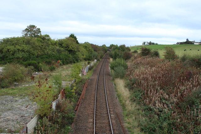 Railway Line at Drybridge