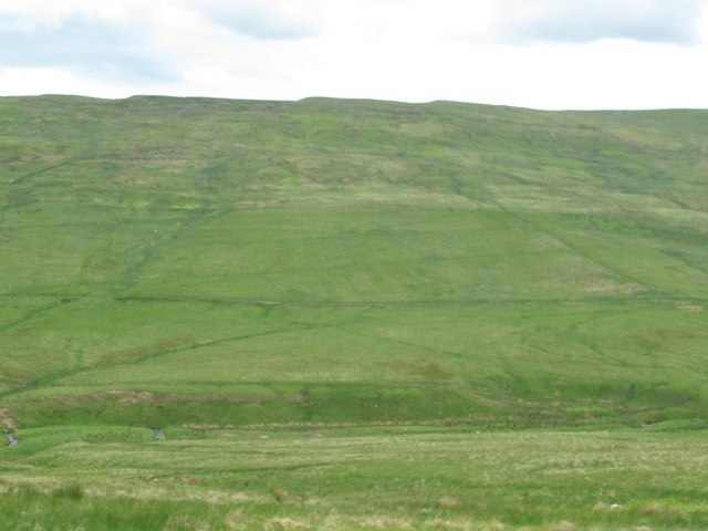 The valley of Cottonshope Burn around Kittlehole Sike