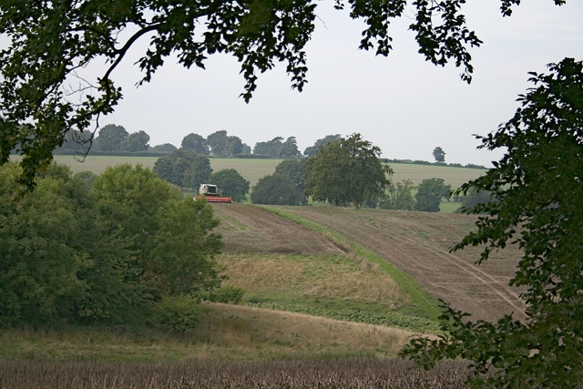 View west from Fullers Farm Road