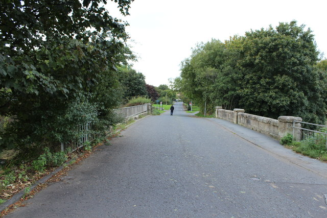 Dreghorn Bridge over Annick Water