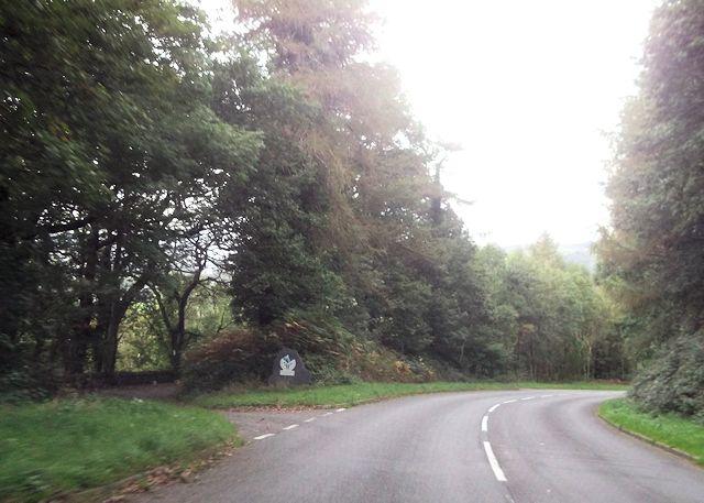 Entering Snowdonia National Park