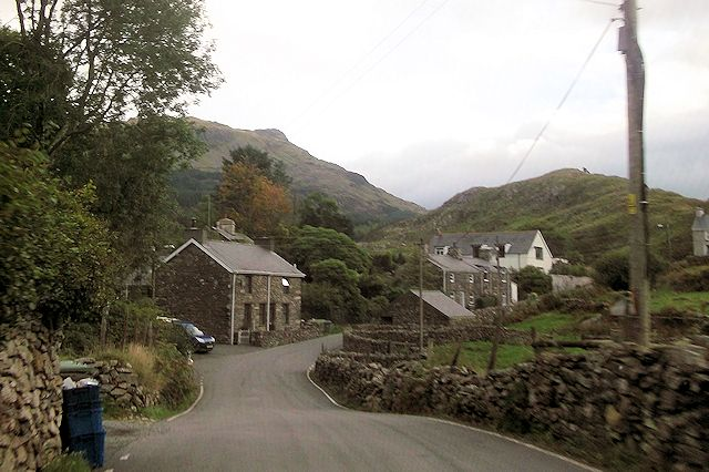 Rhyd village