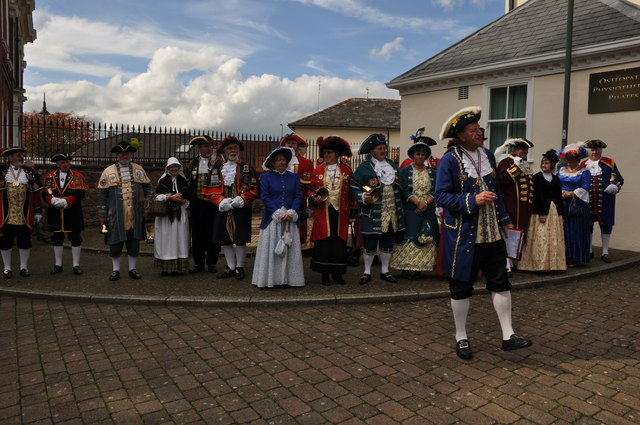 Tiverton : Town Crier Competition