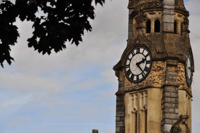 Tiverton : Lowman Green Clock Tower