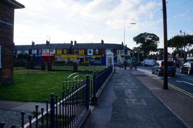 Preston Road towards Southcoates Lane, Hull