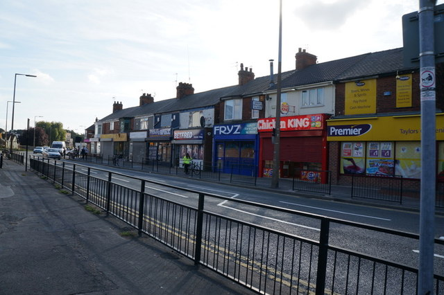 Shops on Holderness Road, Hull