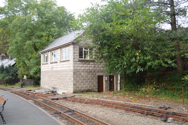 New building at Tan-y-Bwlch station