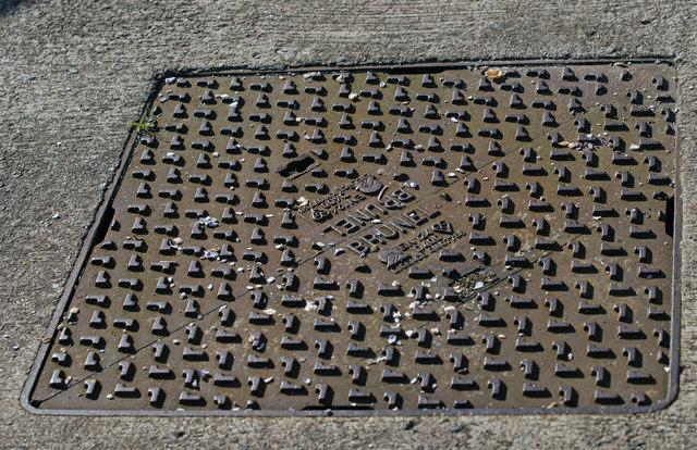 Brunel access cover - Tarbert pier