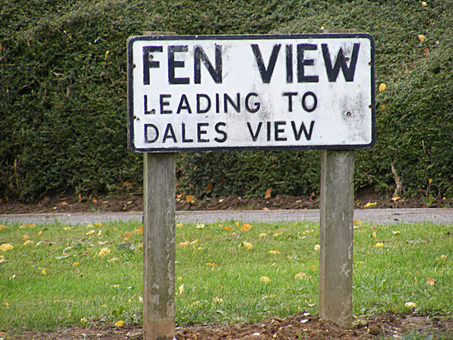 Fen View sign