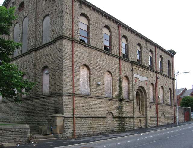 Blackburn - former play centre on St Peters Street