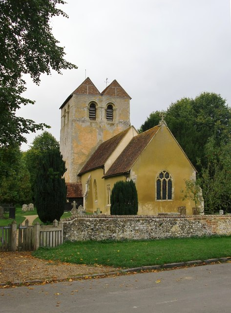 Fingest church from the south-east