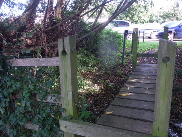 Footbridge at Haymes