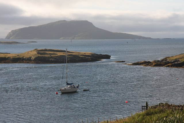 Bàgh Beag and its entrance channel