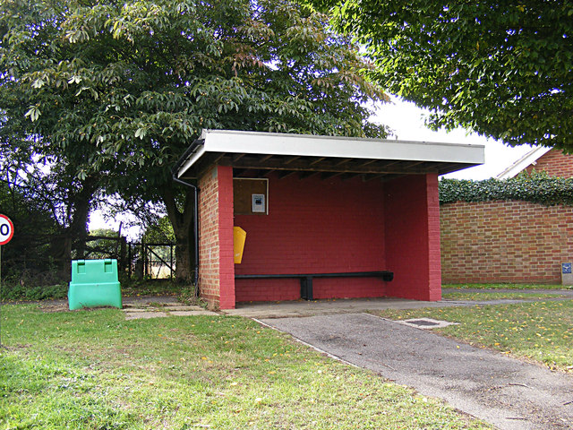 Bus Shelter on Fen View