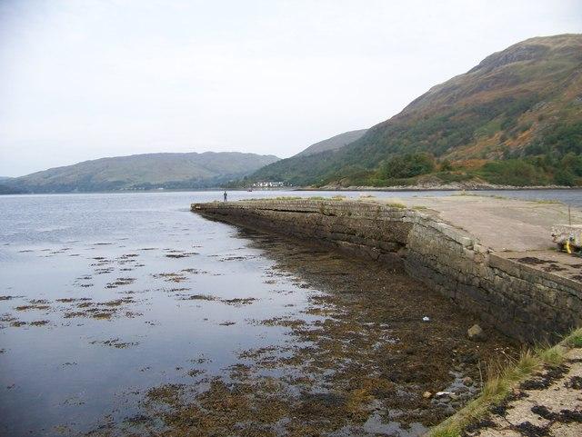 Jetty, Loch Eite