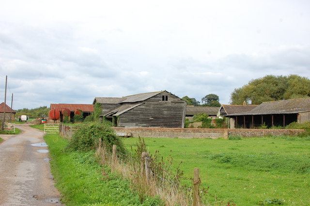Barns and outbuildings at South Ockendon Hall