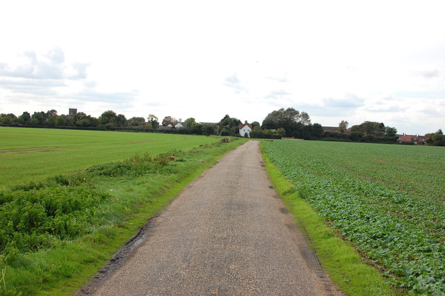 Lane to South Ockendon Hall