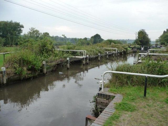Monkey Marsh lock [no 90]