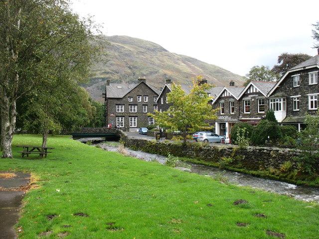 Glenridding village