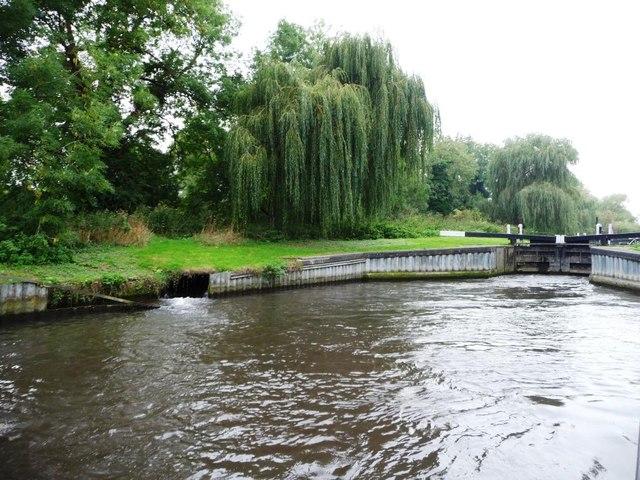Bywash below Widmead lock [no 89]