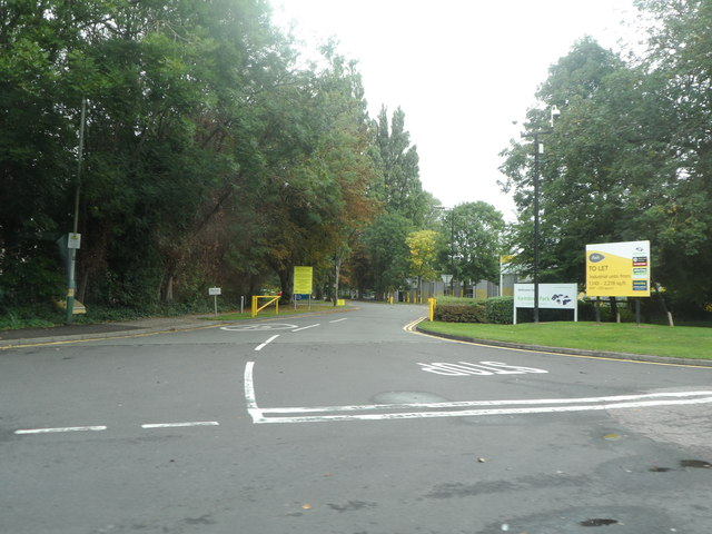 Entrance to Kembrey Park Industrial Units