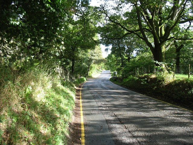 The A592 near Aira Force
