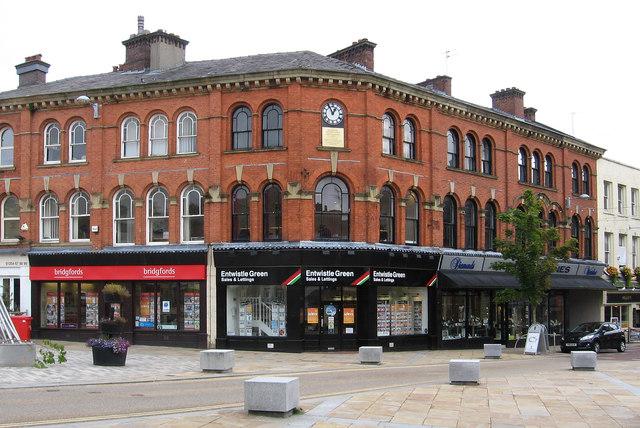 Blackburn - shops at Northgate