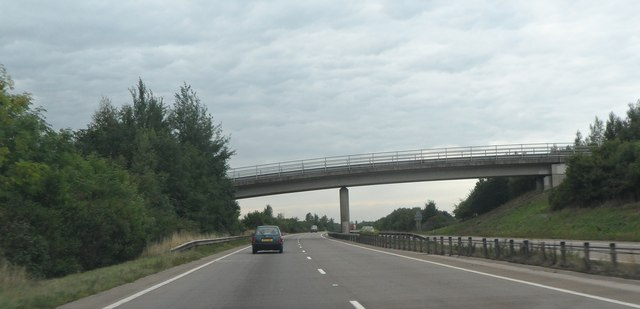 Road Bridge over the A419