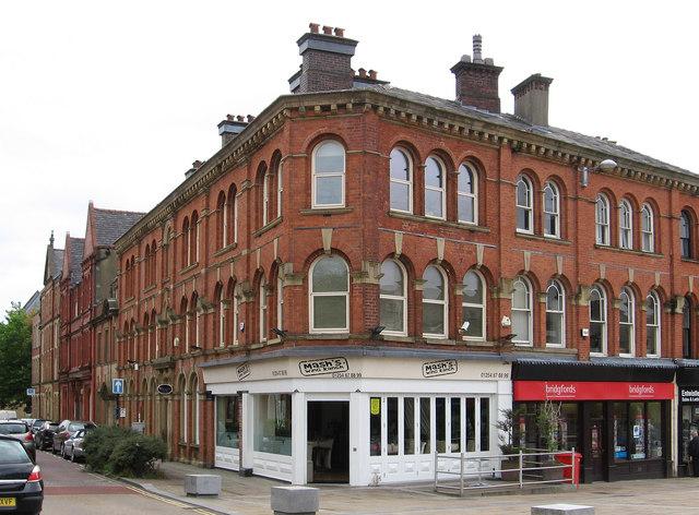 Blackburn - south side of Richmond Terrace