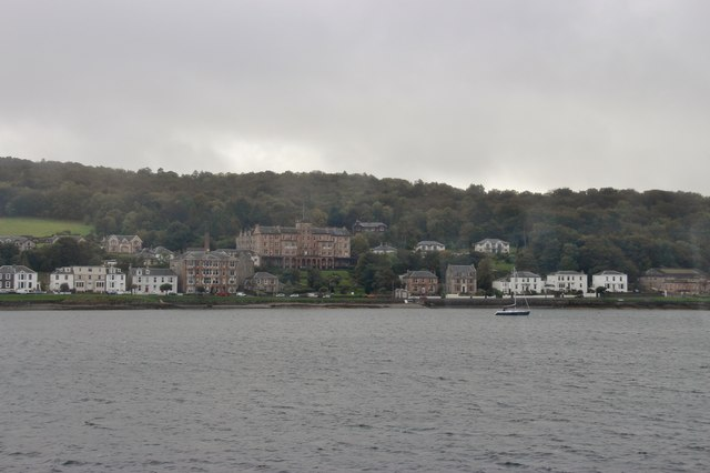 Glenburn Hotel in the east end of Rothesay