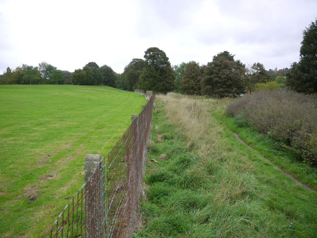 Riverside path south of Ovingham Middle School