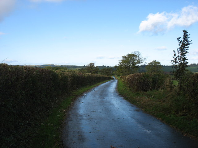 The lane to Hutton and Greystoke