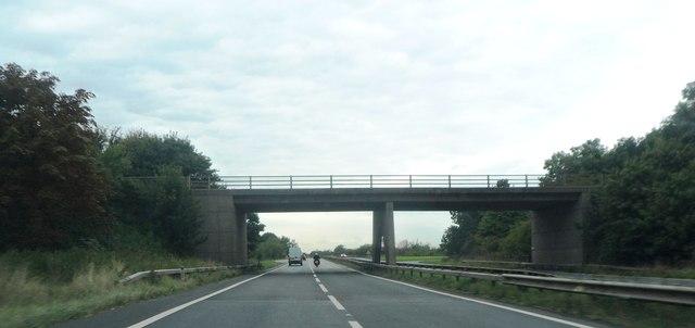 Bridge over the A419