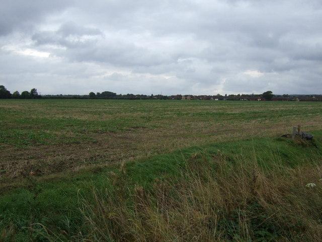 Farmland towards Bourne