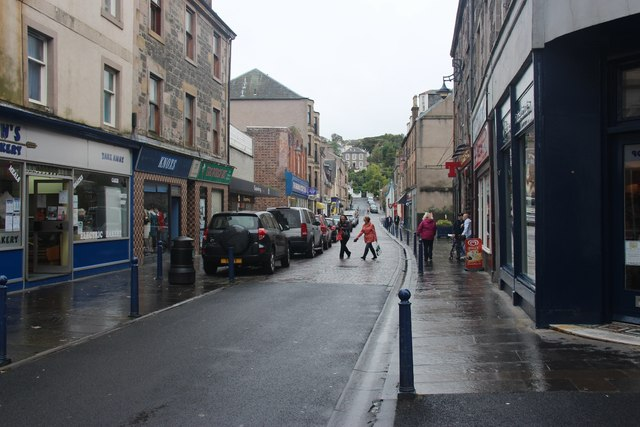 Montague and Bridge Streets, Rothesay