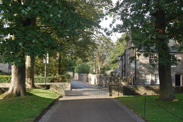Looking down Meston Walk, Old Aberdeen