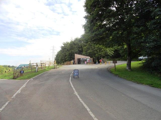 Entrance to Gibside Estate