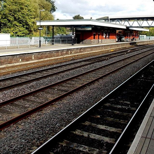 Platform 1 at Wellington railway station