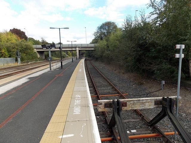 Platform 3 at Wellington railway station