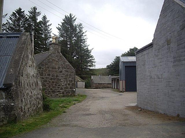 Belhinnie farmyard