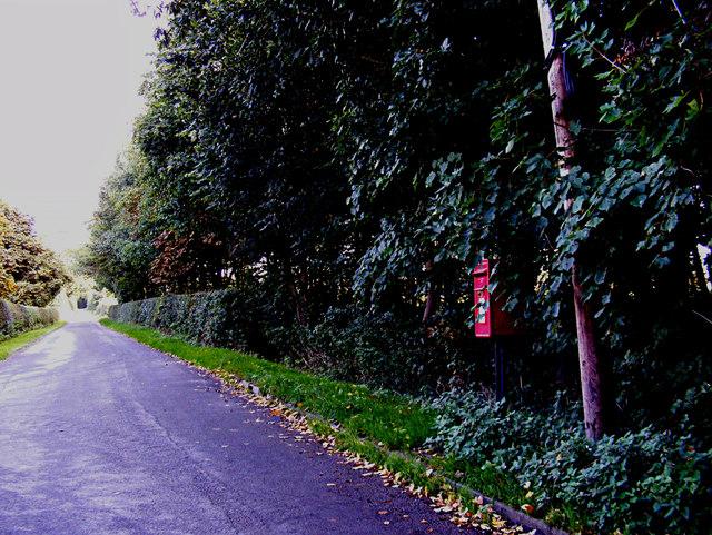 Wenham Road & Rookery Farm Wenham Road Postbox